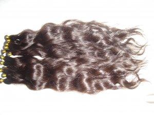 "4 oz. 16-18"" Remi Indian Human Hair Curly"