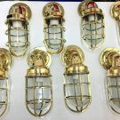 vintage style new marine brass ship nautical passage light 8 piece