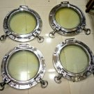 Vintage nautical marine ship Aluminium porthole set of 4 pieces