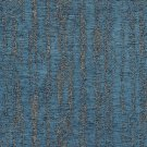 McAlister Textiles Textured Chenille Denim Blue Fabric