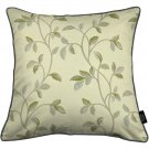 """McAlister Textiles Annabel Floral Natural Cushion Cover - 16"""" Size"""