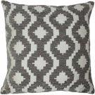 "McAlister Textiles Arizona Geometric Charcoal Grey Cushion Cover - 16"" Size"