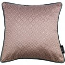 "McAlister Textiles Elva Geometric Blush Pink Cushion Cover - 16"" Size"