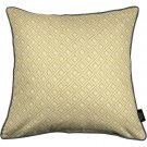 "McAlister Textiles Elva Geometric Ochre Yellow Cushion Cover - 16"" Size"