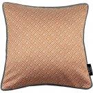 "McAlister Textiles Elva Geometric Terracotta Orange Cushion Cover - 16"" Size"