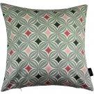 "McAlister Textiles Laila Diamond Print Blush Pink Cushion Cover - 16"" Size"