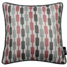 """McAlister Textiles Lotta Blush Pink + Grey Cushion Cover - 16"""" Size"""