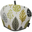 McAlister Textiles Magda Floral Ochre Yellow Tea Cosy