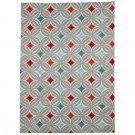 McAlister Textiles Laila Cotton Burnt Orange Tea Towel Sets