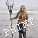 Aquaman Cosplay Print in Water - AlliZCosplay