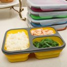 Silicone Collapsible Portable Lunch Box