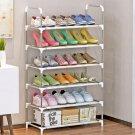 Multifunctional 6-Tier Shelf for Shoe Book Home Storage Organizer