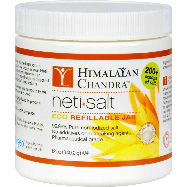 Himalayan Institute Neti Wash Neti Pot Salt, 12 Oz Sinus Nasal