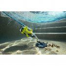 Cordless Underwater Stick Vacuum Kit for In Ground Pool 18-Volt ONE Lithium Ion