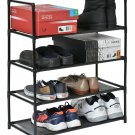 Muscle Rack SR4L-BLK 4 Level Shoe Rack, Black