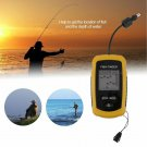 High Performance 100m Depth Fish Finder Detector Portable River Lake Sea Sonar F