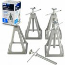Jack Stand Set of 4 Camco Olympian RV Aluminum Stack Stabilizer Camper Trailer