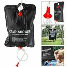 20L Outdoor Heating Case 5 Gallon Solar Heated Camping Energy Shower Bag