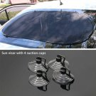 Car Rear Back Window Sun Shade Cover Visor Shield Screen Mesh Block Foldable