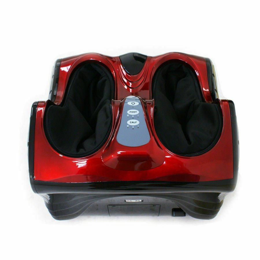 Zeny Shiatsu Kneading Rolling Foot Calf Massager Vibration Ankle Leg Relax Massa