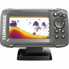 Lowrance 000-14012-001 HOOK-2 4X Fishfinder with Bullet Skimmer Transducer, Auto