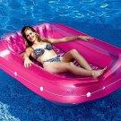 Swimline 71 Inch Swimming Pool Inflatable Suntan Tub Lounge Water Raft Float