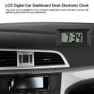 Portable LCD Digital Table Car Boat Desk Electronic Clock Date Time Calendar DAD