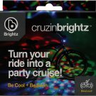Brightz, Cruzin Brightz Blinking LED Bicycle Light, Red/Blue/Green youth