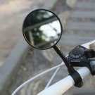 Bike Mirror, Bike Bicycle Handlebar Flexible Rear Back View Rearview Mirror