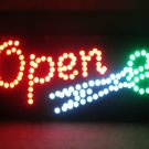 High Visible Bright Open Led Moving Animated Scissor Salon Sign
