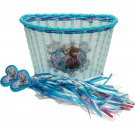 Disney Frozen Accessory Pack Bike Basket and Streamers Girls child toys
