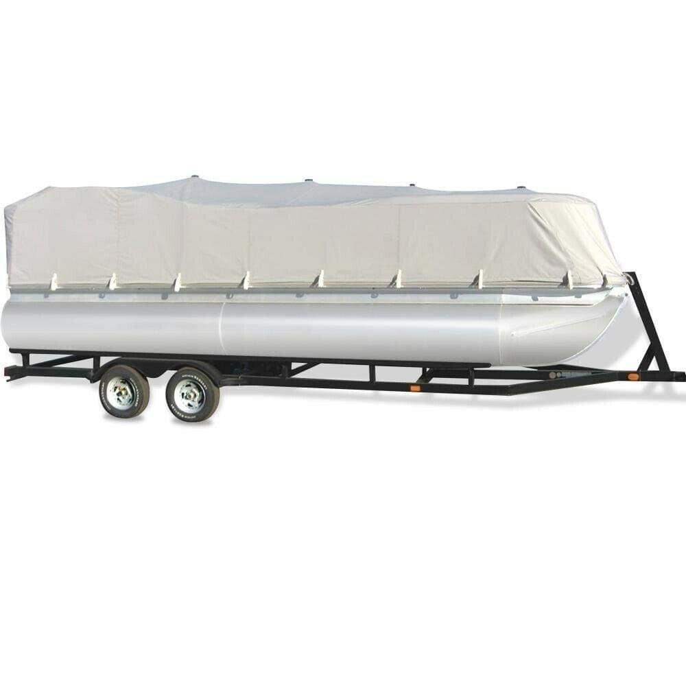 "Armor Shield Trailer Guard Pontoon Boat Cover 21'-24'L Beam Width to 96"" Father"