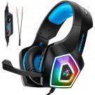 Gaming Headset with Mic for Xbox One PS4 PC Nintendo Switch Tablet Smartphone