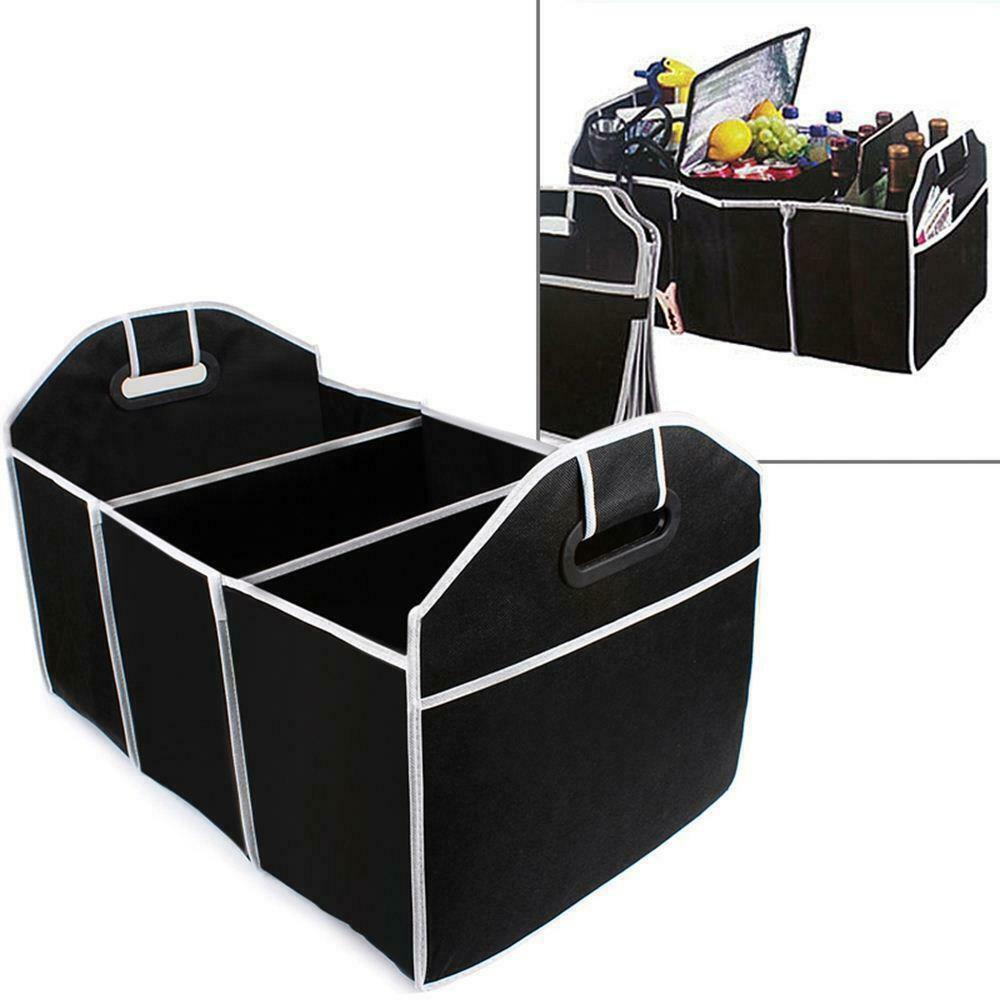 Car Trunk Organizer Cargo Organizer Folding Caddy Storage Collapse Bag for Dad