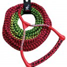 Airhead 3-Section Water Ski Rope with Radius Handle and EVA Grip Boating Sports