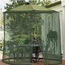 Mosquito Net Canopy Patio Table Umbrella Outdoor Garden Deck Gazebo