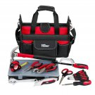 Hyper Tough Tool Set, 22 pieces with Bag Dads Gift Father DIY Home maintenance