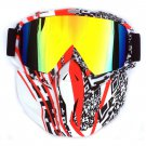Water Sports Ski and Water boarding Jet Sking MTB Face Mask Shield Glasses Nose