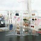 Screen Stud Foldable Jewelry Display Stand Unit Earring Bracelet Holder/Storag