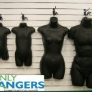 Black Female Dress Male Child And Toddler Set - 4 Body Mannequin Forms