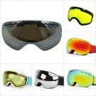 Water n Jet Ski Lens Double Anti glare Lenses Ski Night Vision For Goggles BLK