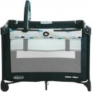 Graco Pack 'n Play On the Go Playard with Bassinet, Twister Baby Crib Play Pen