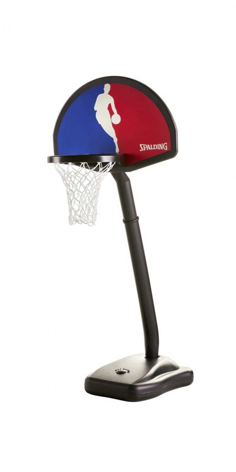 Spalding NBA Youth One-On-One Portable Hoop System