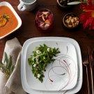 Corelle Square Splendor 16-Piece Dinnerware Set for Kitchen