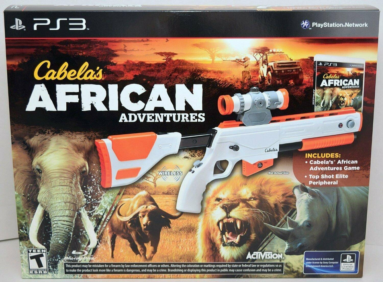 Cabela's African Adventures Bundle (Includes Game Top Shot Elite Gun Controlle