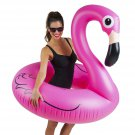 BigMouth Inc. Pink Flamingo Pool Float, Inflates to Over 4ft. Wide, Inflatable V