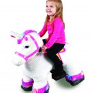 6 Volt Stable Buddies Willow Unicorn Plush Ride-On by Dynacraft