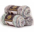 Lion Brand Yarn Homespun Acrylic Fashion Yarn, 3 Pack