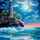 Paintworks Paint By Number 16x20 Lighth us Moonlight Paint with a twist