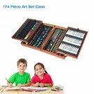 Colorful 174 piece Art Kit Set Pencils Pastels Painting for School Kids Artist